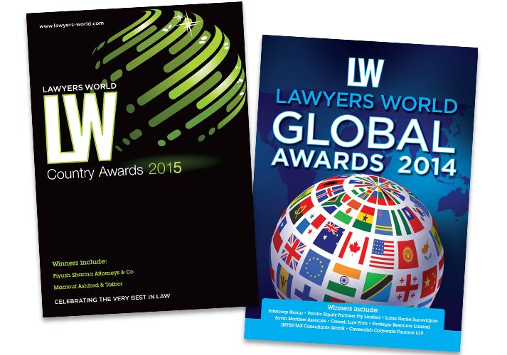 Lawyers World magazine covers - ICD