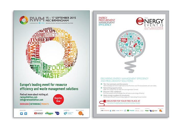RWM & The Energy Event advertising - ICD