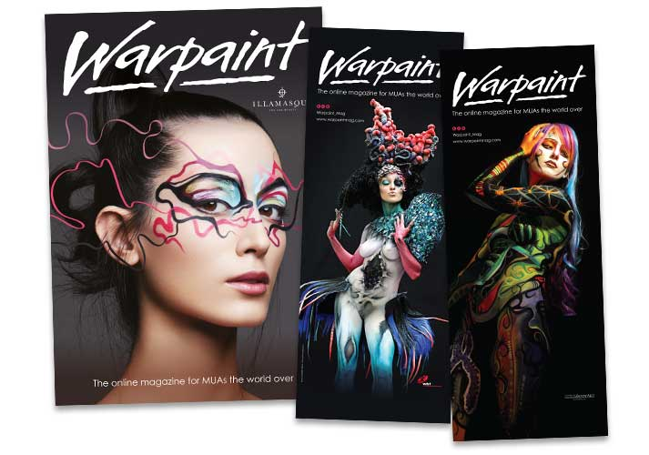 Warpaint marketing material & show banners - ICD