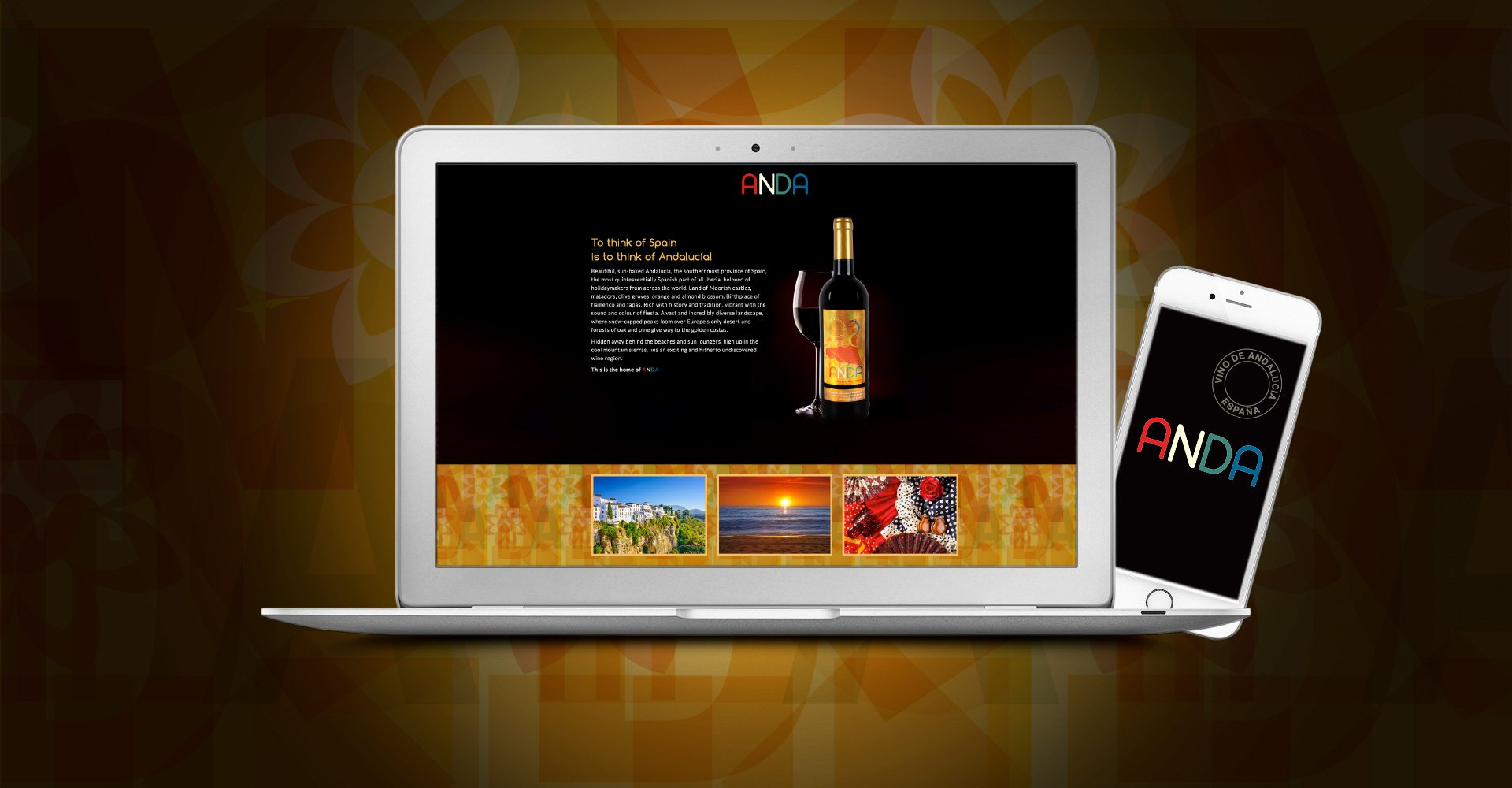 Anda Wine Responsive Website Designed by Image Creative Design