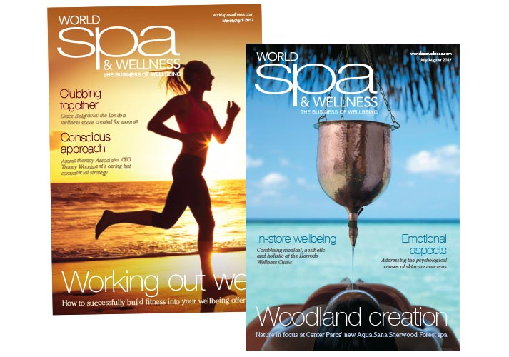 World Spa & Wellness Magazine Covers