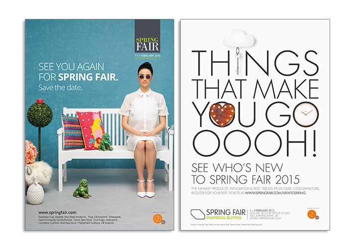Spring and Autmn Fair advertising - ICD