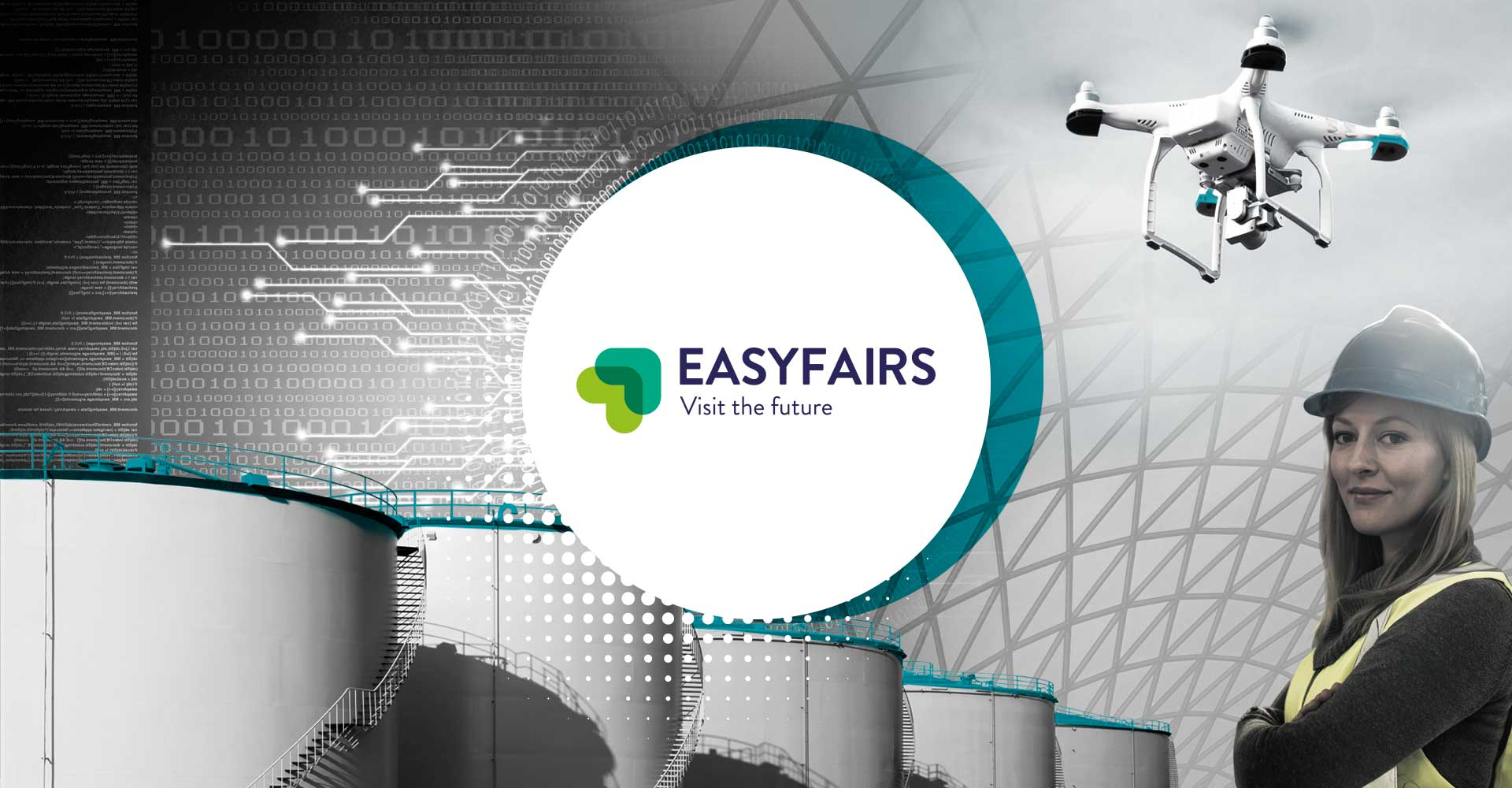 Image Creative design work for Easy Fairs