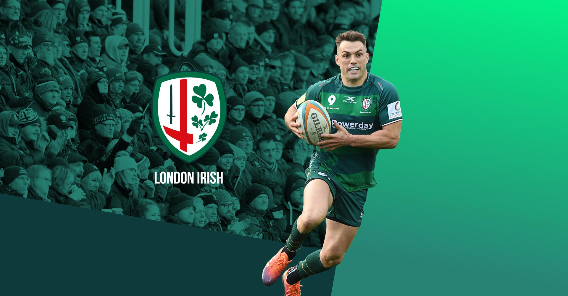 London Irish Work by Image Creative Design
